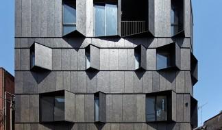 Здание Кюро в стиле fundermax
