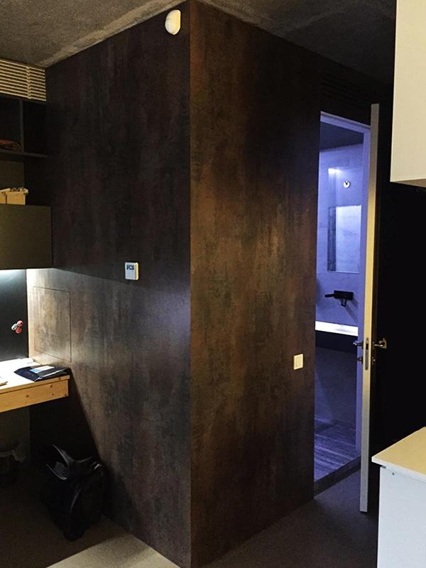 HPL Fundermax в офисе ReDesign